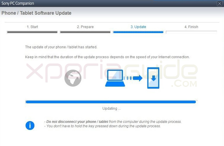 Install Xperia S LT26i Jelly Bean 6.2.B.0.200 firmware via PC Companion