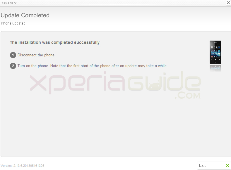 Update Xperia J ST26i AndroidJelly ean 11.2.A.0.31  firmware via Sony Update Service