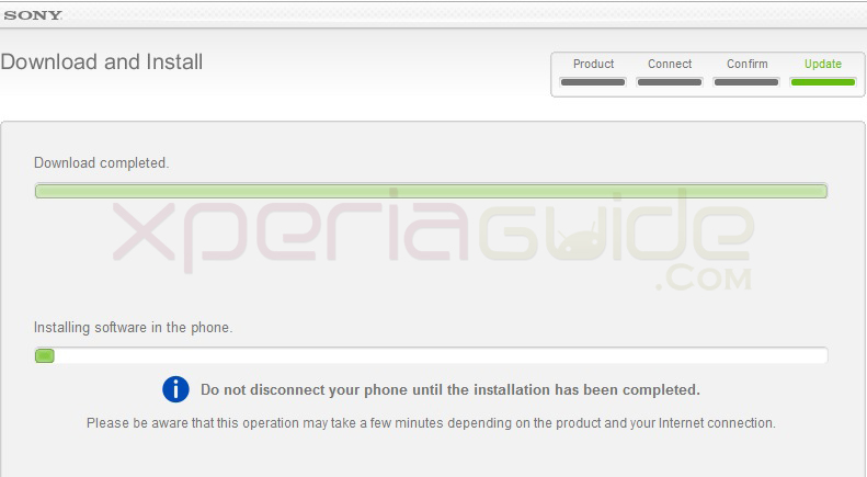 Updating Xperia SL LT26ii to Android 4.1.2 Jelly Bean 6.2.B.0.200 firmware via SUS Method.