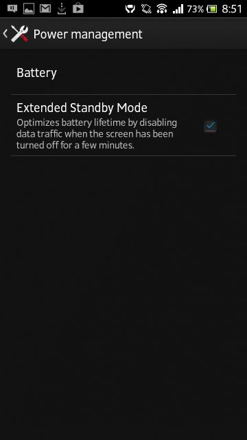 No STAMINA MODE in Jelly Bean 6.2.B.0.211 firmware update Xperia S